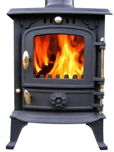 The Home Fire Shop Lincsfire Harmston JA013S ibasic compact wood burning stove
