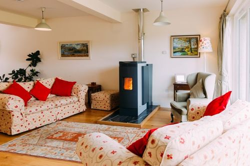 wood burning stoves eco stove and back boiler cuts heating costs by up to 20%