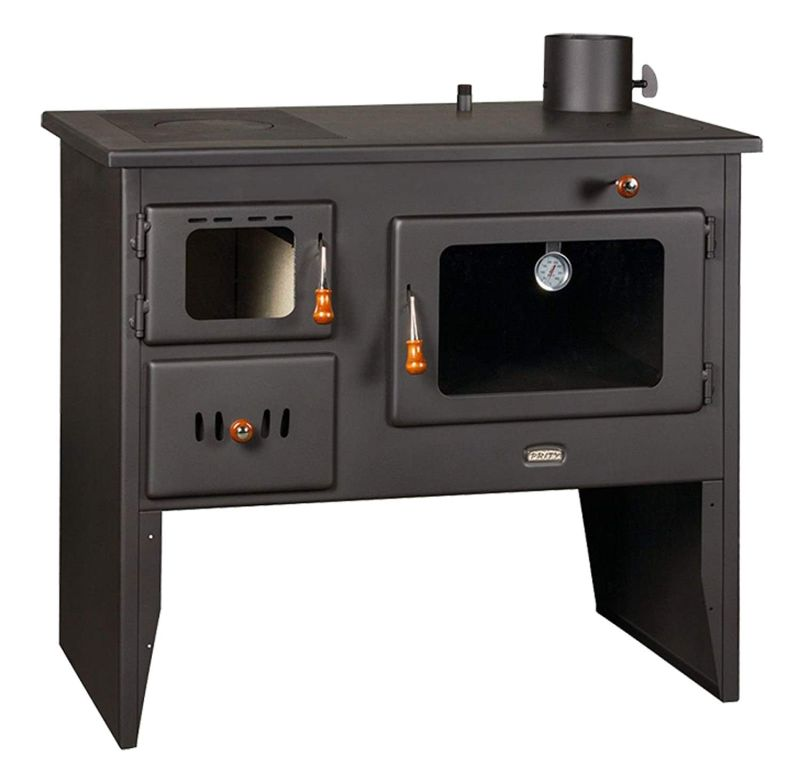 The Home Fire Shop a combination wood burning stove range cooker  & boiler