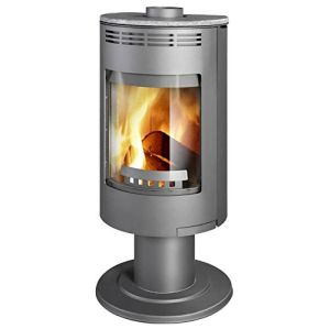 The Home Fire Shop Thorma Andorra Exclusive Pedestal Wood Burning Stove