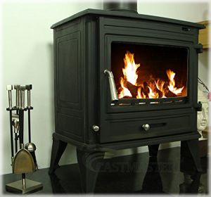The Home Fire Shop Castmaster Belvoir Wood Burning Stove Boiler
