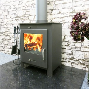 The home fire shop the iStove 5kW steel wood stove