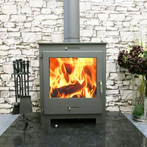 The home fire shop wood stove reviews the 18kW Neo Lux