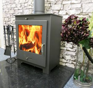 The home fire shop wood stove reviews Nero Lux 18kW stove